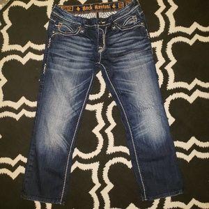 Rock Revival Jeans - Rock Revival Capris 29